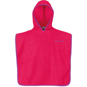 speedo Microterry Poncho 60x60cm, raspberry fill